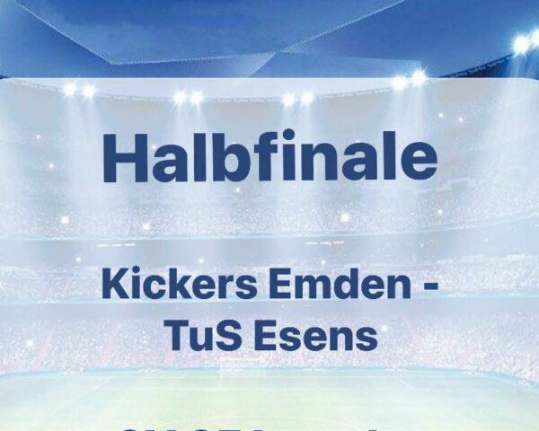 HALBFINALE – Auf nach Emden